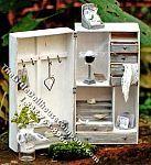 Miniature Wardrobe Trunk Kit for Dollhouses