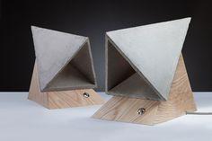 The Monk Concrete Lamp By SKELD Design #ConcreteLamp