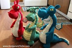 Dragons In My Kitchen! ~ Free Pattern with Video Series