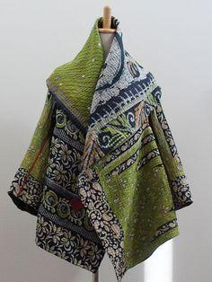 Kantha Circular Jacket - MIEKO MINTZ