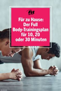 Workout for at home: training plan for 10 20 or 30 minutes. If you want to keep fit, strengthen your muscles or tighten your body, you don't necessarily have to go to the nearest gym. A workout ca Slim Waist Workout, Full Ab Workout, Insanity Workout, 30 Minute Workout, Best Cardio Workout, Fitness Workouts, At Home Workouts, Fitness Motivation, Sport Fitness