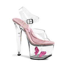 Captivate your audience with our Pleaser stripper shoes. From no-heel to high, our pleaser exotic shoes are show stoppers. View our women's shoes here. Sexy High Heels, Platform High Heels, High Heel Pumps, Pumps Heels, Shoes Sandals, Sandals Platform, Strap Sandals, 7 Inch Heels, High Heels Plateau