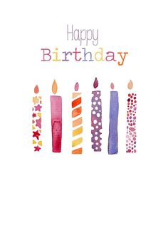 Felicity French - Felicity French Happy birthday six candles.