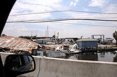 Collapsed Boat House by coastalangler, via Flickr