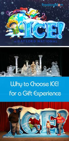 Make the Gaylord National Resort and Spa gift experience an annual tradition and visit the ICE! attraction featuring Christmas Around The World