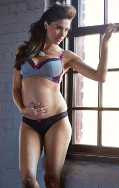 This full cup nursing bra boasts cool chic colors in pewter gray microfiber ef0df4efd