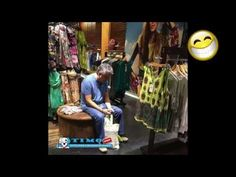 bored men at shopping waiting for their wives  hilarious :))