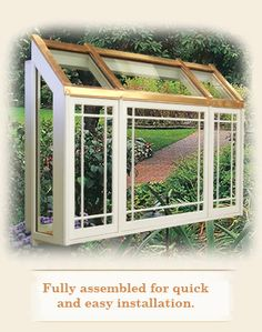 Garden Window   Manufactured Advanced Building Products, Inc