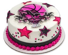 Girls Basketball Stars DecoSet® Cake Topper
