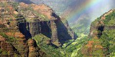 Le Canyon Waimea, à Kauai sur l'île d'Hawaii