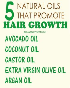 best-hair-oils-hair-growth, grat to add EO's to these for increased hair growth