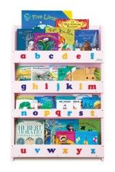 Tidy Books – The Children's Bookcase Company – The Original Childrens Bookcase and Book Display with Alphabet in Pink Lowercase Bookshelves In Bedroom, Bookshelves Kids, Bookcases, Childrens Bookcase, Tidy Books, Children's Books, Kids Storage, Bedroom Storage, Nursery Storage