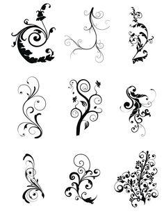 Encore plus de swirls ~ KLDezign les SVG