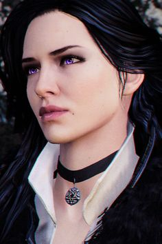Yennefer of Vengerberg... awful personality but she's a true beauty