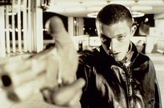 La Haine or Hate - French movie about 3 friends in the banlieue or suburbs of Paris. Their crimes, cultural backgrounds and drama.