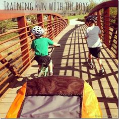 Running With Children... What it REALLY looks like