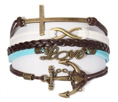Passion #anchor #cross #infinity #leather #persona