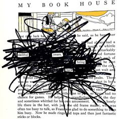 Practice Makes Perfect: Made by @mikegermonart Dbf2014, Dbf Blackout, Make Blackout Poetry  (at AJC Decatur Book Festival)