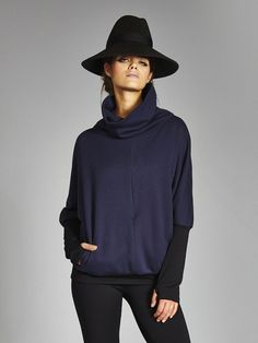 *ARRIVING*: Felicity Fleece Cocoon Pullover by Vaute Couture