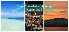 Our monthly round-up of #travel and #expat life. #maldives #maafushi #babymoon #korea #seoul #travelblogger #beach #sunset #wanderlust