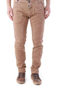 Pantaloni Uomo Absolut Joy (VI-P2471) colore BrąZowy