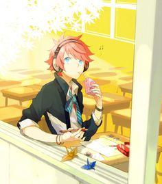 School boy natsu lol