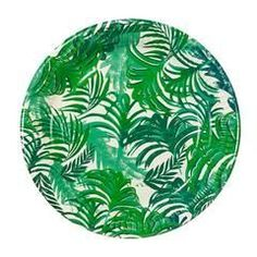 Our Palm Leaf Tropical Plates will brighten up your Summer Party!!!  They are perfect for a Pineapple Party, a Flamingo Party, a Pool Party or any backyard celebration!