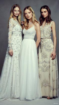 bhldn bridal may 2016 bohemian beauty campaign tabitha naya hazel wedding dresses