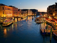 Venice in Italy - Night view images