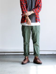 A VONTADE Fatigue Trousers Cropped Legth