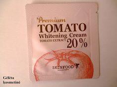 Gėlėta kosmetinė: SAMPLE SIZE. SKINFOOD Premium Tomato Whitening Cream