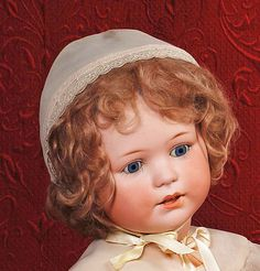 "LARGE GERMAN BISQUE ""JUTTA"" CHARACTER BABY BY DRESSEL. Marks: Jutta 1914 / 13. 27"""