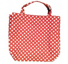Line up your Clippy bag with a red spotty lining. Fits a small Clippy bag (the one with six pockets each side)