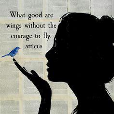 'Courage' #atticuspoetry #atticus #poetry #poem #courage #loveherwild #fly @thequotethief