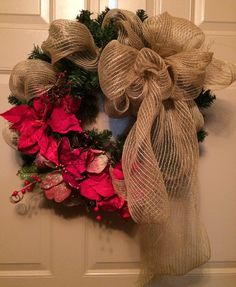 Beautiful wreath made for a friend! Made by Anita Jolls