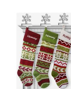 28 knit fair isle inspired christmas stockings our very best and the most luxurious knitted