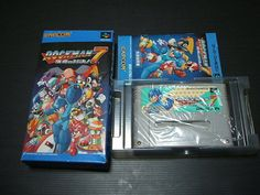 CAPCOM Rockman 7 / Mega Man Nintendo Super Famicom with Box Import Japan 869