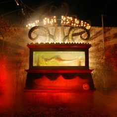 THE GROUNDS | Theatre Bizarre - mermaid skeleton