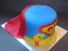 For a 3 year old! Superman Cakes, Hats, Hat, Hipster Hat