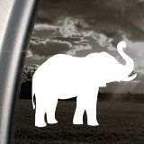 Elephant car sticker