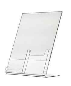 """Realestate Tri Fold Brochure Holders for 4/"""" Wide Literature House Pack of 24"""
