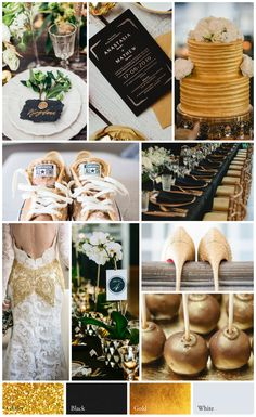 Indulge in Decadence: How to Create a Charcoal, Ivory, and Metallic Gold Winter Wedding 2018 Wedding Colors, Fall Wedding Colors, Wedding Themes, Wedding Styles, Wedding Decorations, Wedding Ideas, Wedding Color Combinations, Wedding Color Schemes, Colour Schemes
