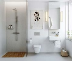 Nice and simple ensuite idea