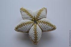 Цветок из бисера - Ярмарка Мастеров - ручная работа, handmade