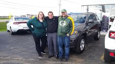 GREG's new 2017 Jeep Grand Cherokee! Congratulations and best wishes from Kunes Country Auto Group of Sterling and Matthew Ricciotti.