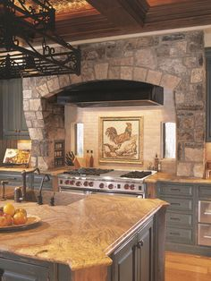 Old Italian Tuscan Kitchen Decor Looking for Tuscany Kitchen Design Ideas for your Kitchen Remodel? Tuscany Kitchen, Rustic Kitchen, Kitchen Modern, Küchen Design, Layout Design, House Design, Design Ideas, Rustic Italian, Italian Home