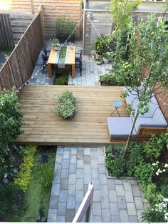Related posts: Beautiful Small Garden Design for Small Backyard Ideas 30 Perfect Small Backyard & Garden Design Ideas 39 Small Garden Design for Small Backyard Ideas 51 beautiful small backyard fence and garden design ideas for your home 10 Backyard Patio Designs, Small Backyard Landscaping, Landscaping Tips, Paved Backyard Ideas, Modern Backyard Design, Modern Design, Backyard Pools, Modern Decor, Small Gardens