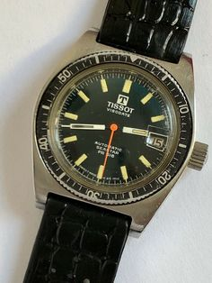 Reloj VINTAGE TISSOT VISODATE DIVER'S SEASTAR PR 516 DATE 1969 SWISS MADE Watch Deals, Cool Watches, Omega Watch, Quality Watches, Vintage, Accessories, Clocks, Watch, Objects