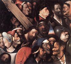 El Bosco. Cristo cargando con la cruz.