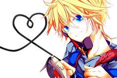 Resultado de imagen para gifs de besos anime vocaloids